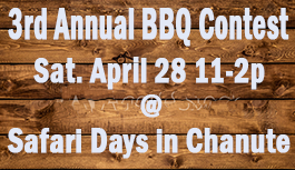 Safari Days BBQ Contest
